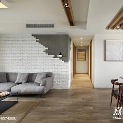 雅致简约风格客厅设计效果图