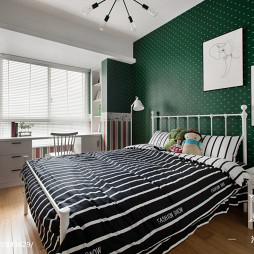 北欧风格创意儿童房布置