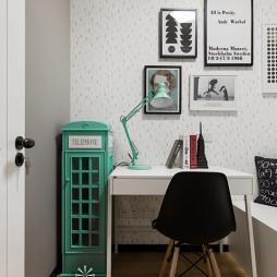 时尚北欧风格小书房设计