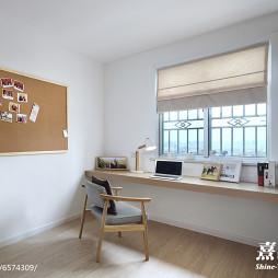简单日式书房设计案例