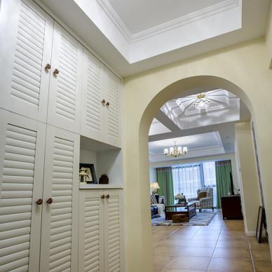 整洁美式玄关装修