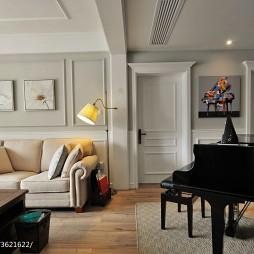 唯美新古典风格客厅设计