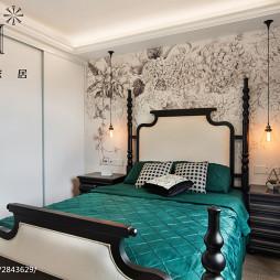 家居美式卧室装饰图