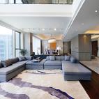 时尚简约风格复式客厅装修