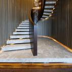 高贵简约风格楼梯设计
