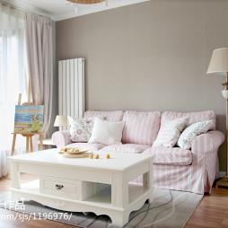 混搭風格小清新客廳設計