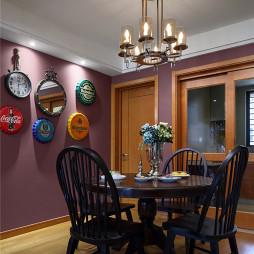 家装美式风格餐厅装修案例