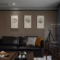 家装中式风格客厅设计大全