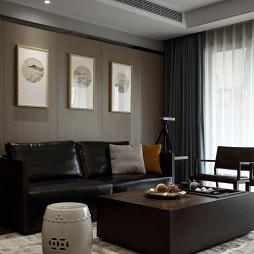 新中式风格客厅布局图