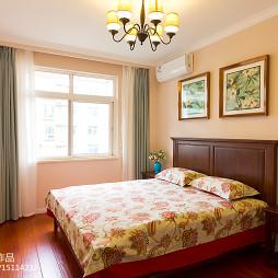 朴实美式风格卧室装修