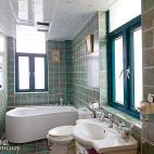 简洁美式卫浴设计效果图
