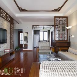 雅致中式風格客廳裝修
