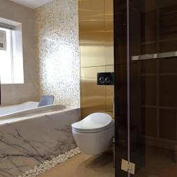 简约风格复式卫浴装修