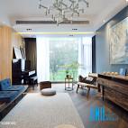 休闲混搭风格客厅设计