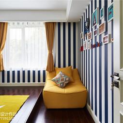 摩登美式照片墙设计