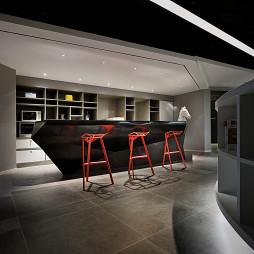 前线机构办公空间吧台设计