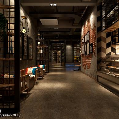 本末咖啡厅设计_2493549