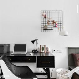 最新北欧风格卧室书房设计