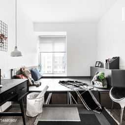 简单北欧风格二居室书房设计