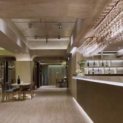 Centre De Vin餐厅过道效果图