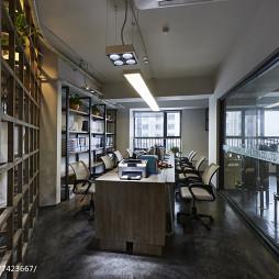 现代新古典办公室办公区设计