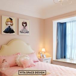 梦幻美式儿童房装修