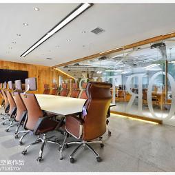 北风建工办公空间会议室装修
