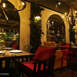 内蒙古·蜜岛西餐厅用餐区装修