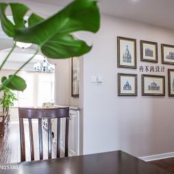 家装美式照片墙装修