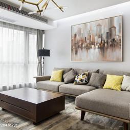 唯美现代风格客厅装修