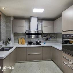 现代三居室厨房设计