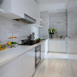 清爽简欧风格厨房设计