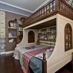 创意美式儿童房装修图