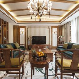 经典中式风格别墅客厅设计