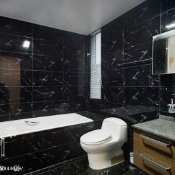 现代风格风格黑色卫浴设计