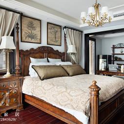 古典美式卧室装修