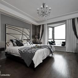 时尚新古典风格卧室布置