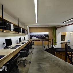 工装LOFT办公空间设计案例