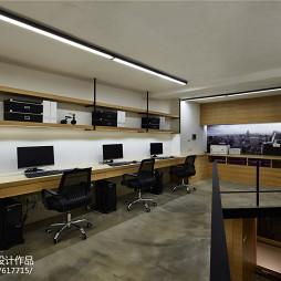 LOFT办公空间办公区设计