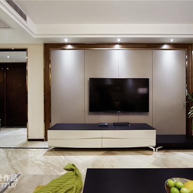 家装现代风格客厅背景墙图片