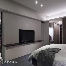 简约风格卧室背景墙设计