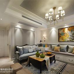 浪漫美式客厅设计大全