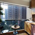 简单美式阳台设计