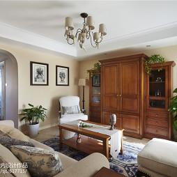 美式四居室客厅装修大全