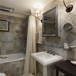 美式四居室卫浴装修