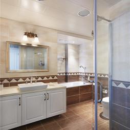 优雅美式卫浴装修