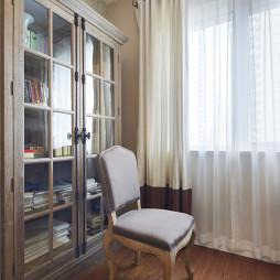 简单美式书房装修效果图