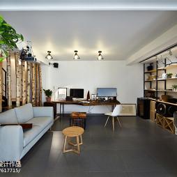 家装北欧格调客厅设计案例