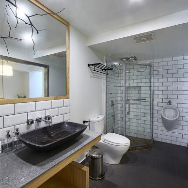 北欧风格三居室卫浴设计