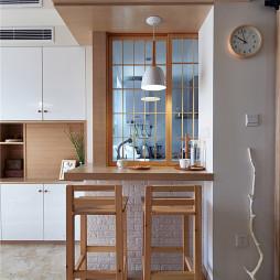 家装宜家风格吧台设计效果图